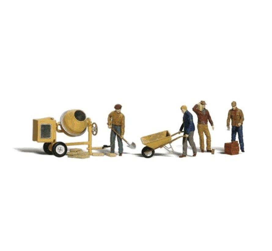 Woodland : N Masonry Workers