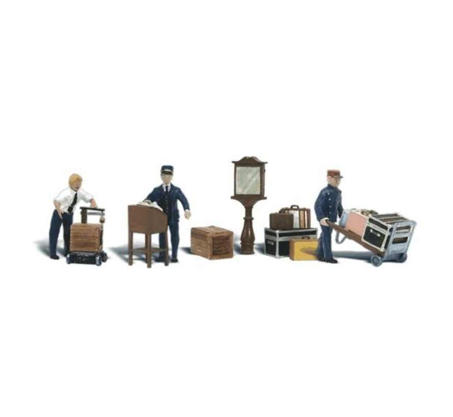 Woodland : N Depot Workers & Accessories
