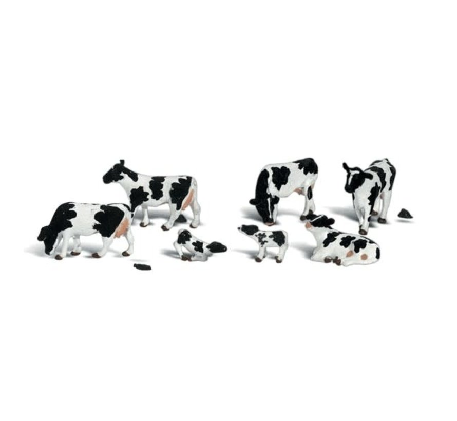 Woodland : O Cows
