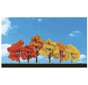 "WOODLAND WDS-3540 - Woodland : Harvest Blaze Trees 1.25"" - 3"""