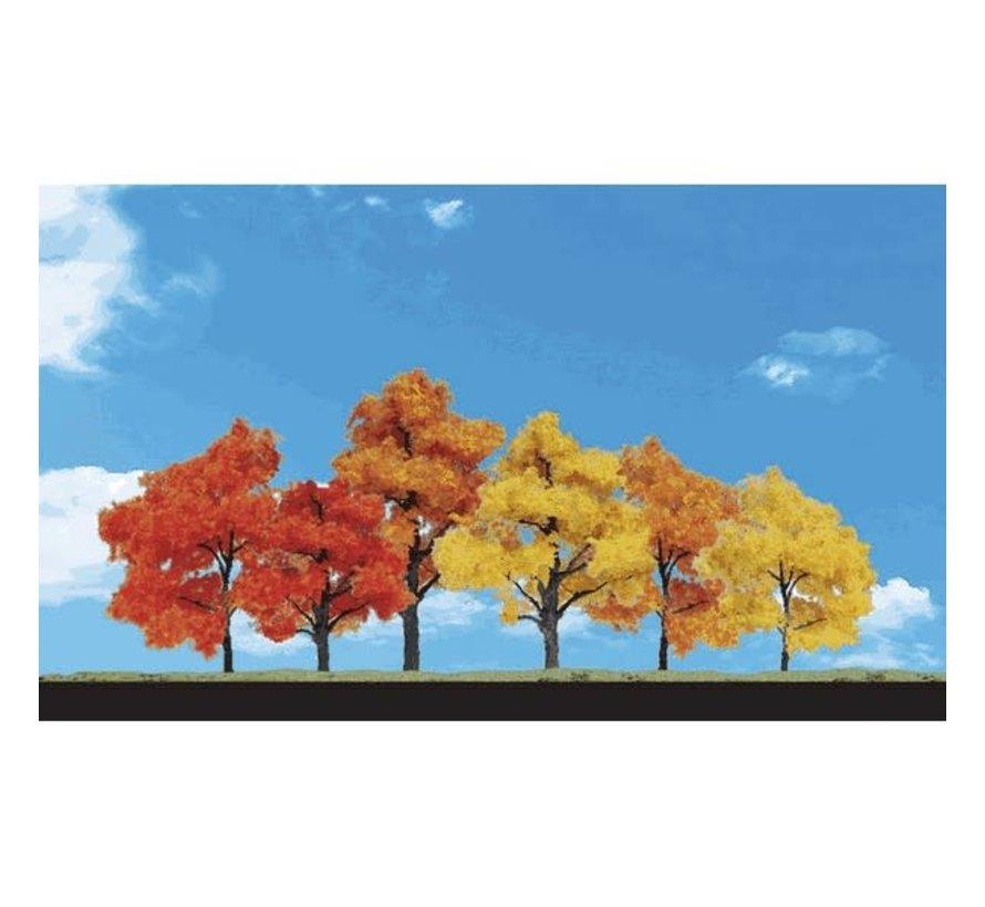 "Woodland : Harvest Blaze Trees 1.25"" - 3"""