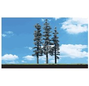 """WOODLAND WDS-3560 - Woodland : Standing Timber Trees 2.5"""" - 4"""""""