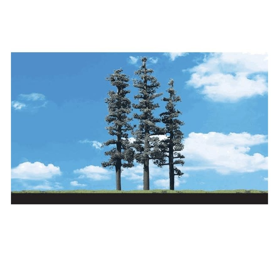 """Woodland : Standing Timber Trees 2.5"""" - 4"""""""