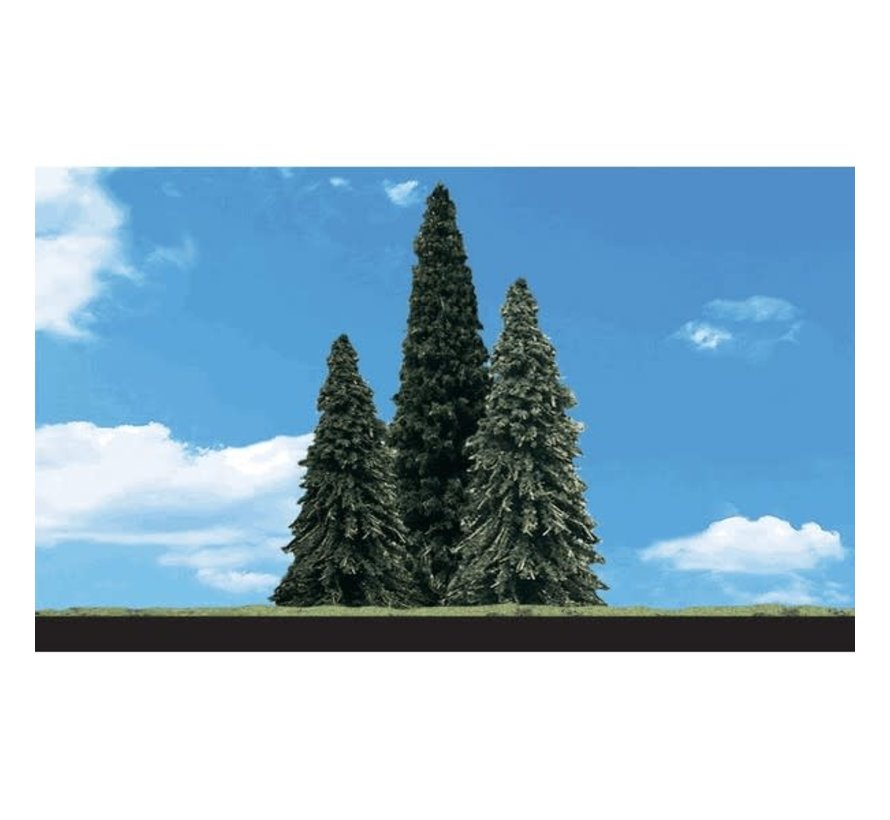 """Woodland : Forever Green Trees 2"""" - 3.5"""""""