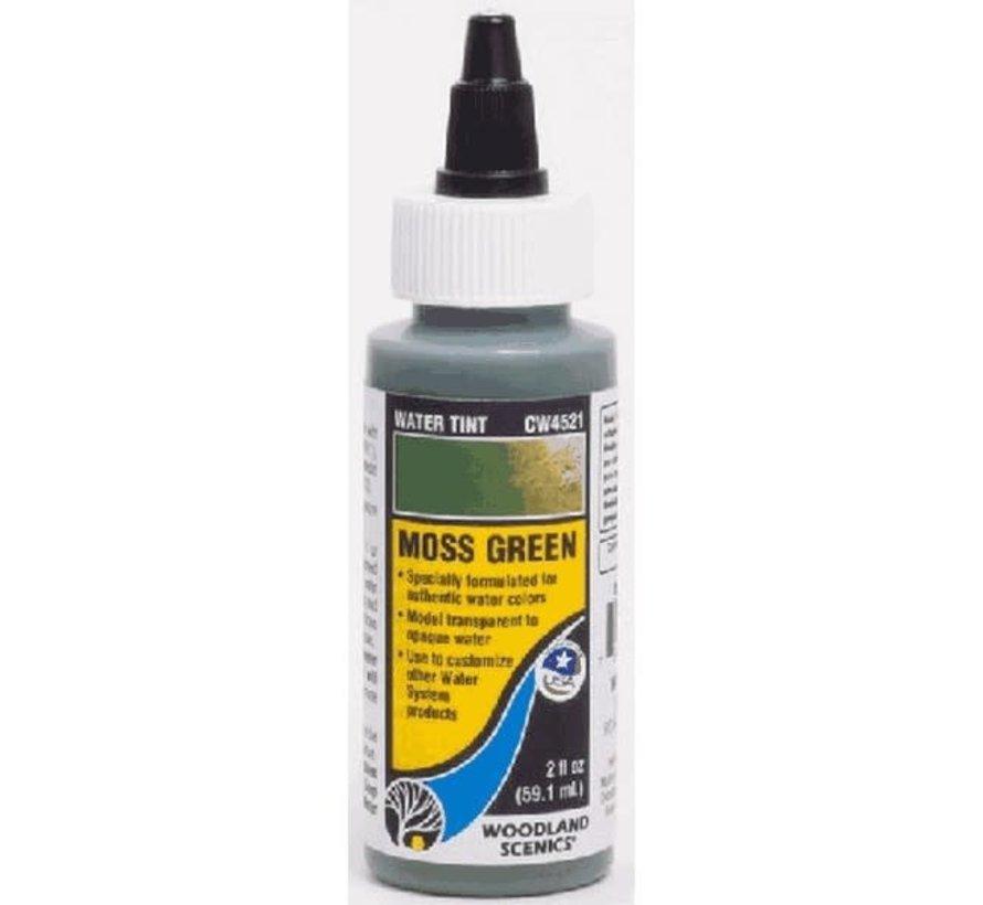 Woodland : Water Tint - Moss Green