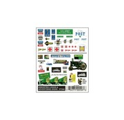 WOODLAND WDS-556 - Woodland : Assorted Logos & Ad Signs
