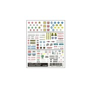 WOODLAND WDS-560 - Woodland : Crate Labels & Warnings Signs