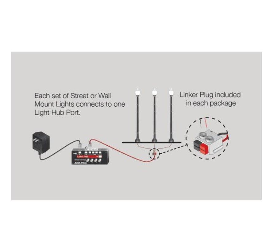 Woodland : HO Just Plug Double Lamp