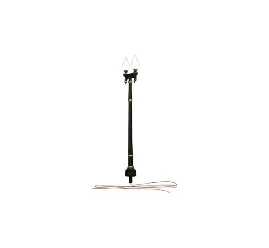 Woodland : O Just Plug Double Lamp Post
