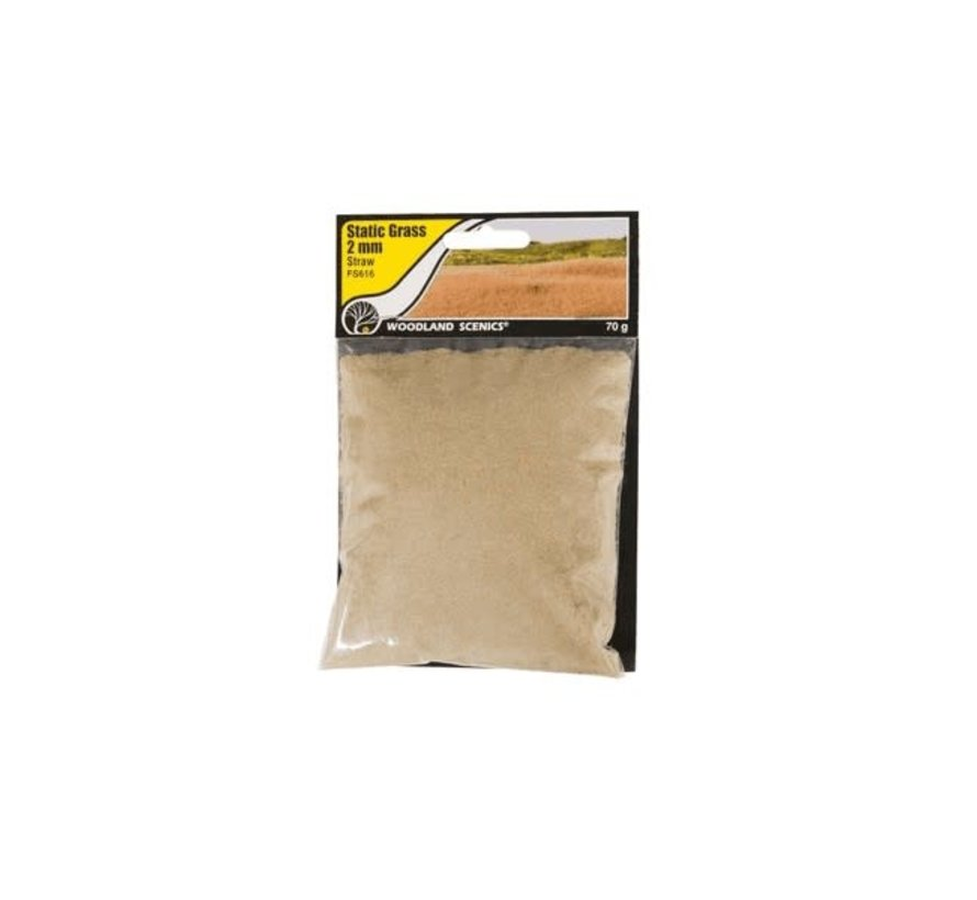 Woodland : Static Grass Straw 2mm