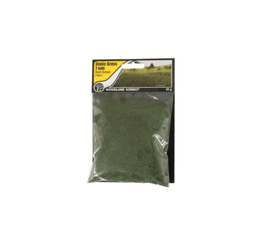 Woodland : Static Grass Dark Green 7mm