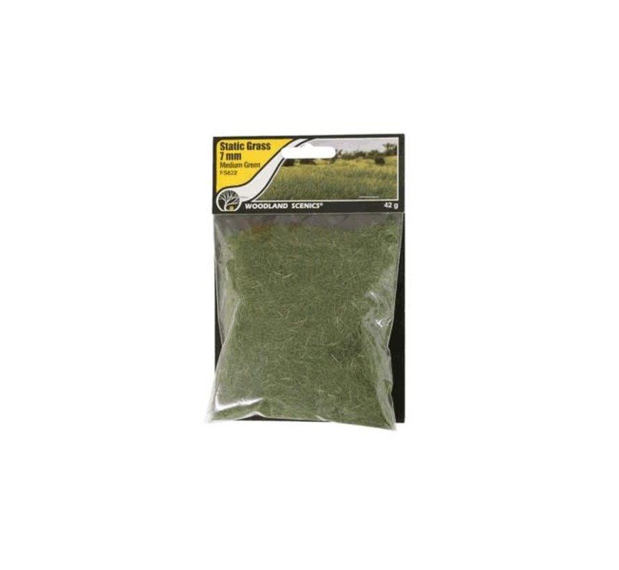 Woodland : Static Grass Medium Green 7mm