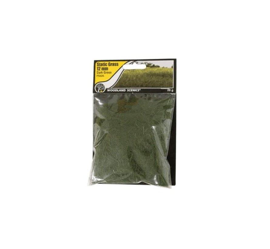 Woodland : Static Grass Dark Green 12mm
