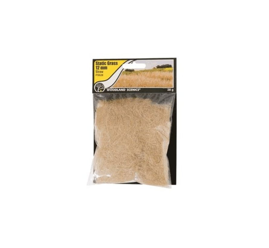 Woodland : Static Grass Straw 12mm