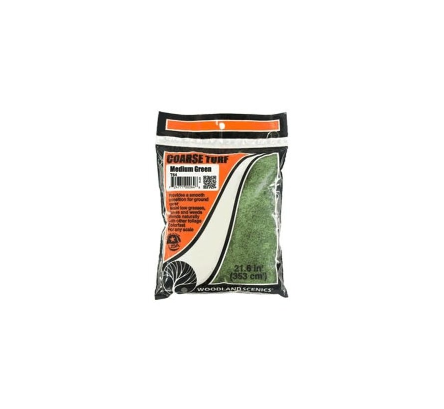 Woodland : Coarse Turf Medium green