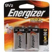 WOODLAND WDS-642 - Woodland : Energizer Batteries 9V 2pk