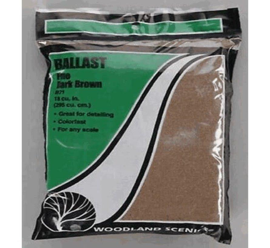 Woodland : Fine Ballast Dark Brown