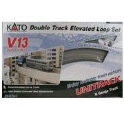 KATO KAT-208721 - Kato : N Track V13 Double Track Elevated Set
