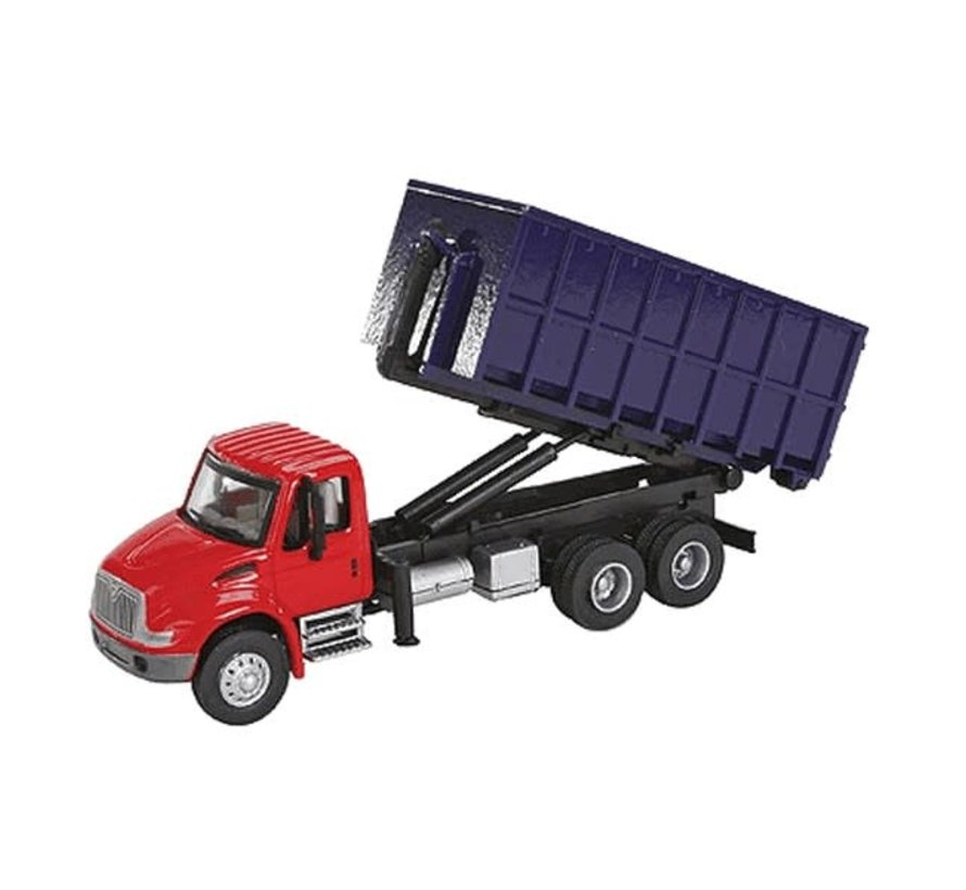 Walthers : HO Intl 4300 Dumpster Truck