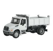 WALTHERS WALT-949-11635 - Walthers : HO 4300 1-Axle Dump Wht MOW
