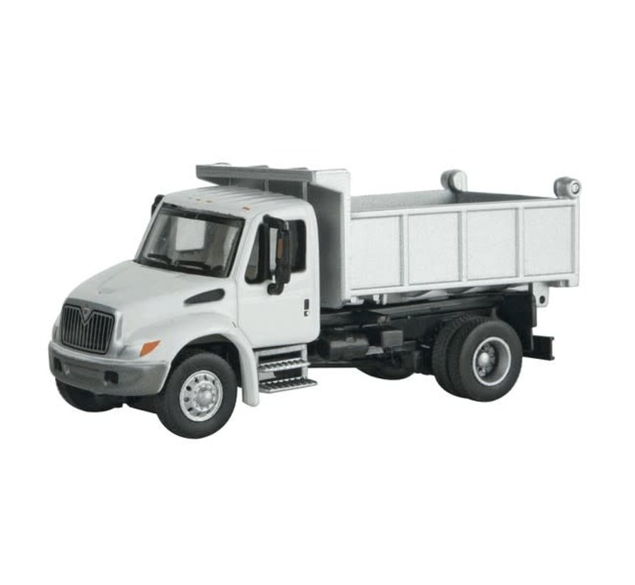 Walthers : HO 4300 1-Axle Dump Wht MOW