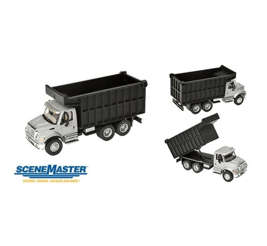Walthers : HO Intl 7600 2-Axl Cl Sl/Bk