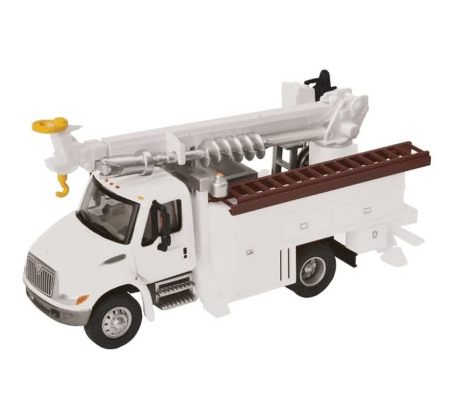 Walthers : HO 4300 Util w/Drl Wht MOW