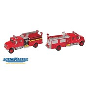 WALTHERS WALT-949-11841 - Walthers : HO Intl 4900 Fire Engine Red