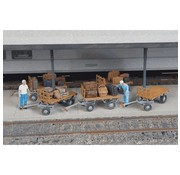 WALTHERS WALT-949-4135 - Walthers : HO Baggage Carts /5