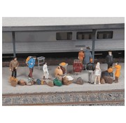 WALTHERS WALT-949-4142 - Walthers : HO Suitcases & packs