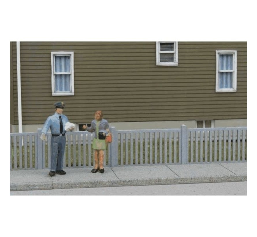 Walthers : HO Metal Fence