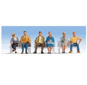 WALTHERS WALT-949-6058 - Walthers : HO Seated People #2 6/
