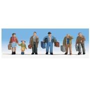WALTHERS WALT-949-6060 - Walthers : HO Travelers w/Luggage 5/
