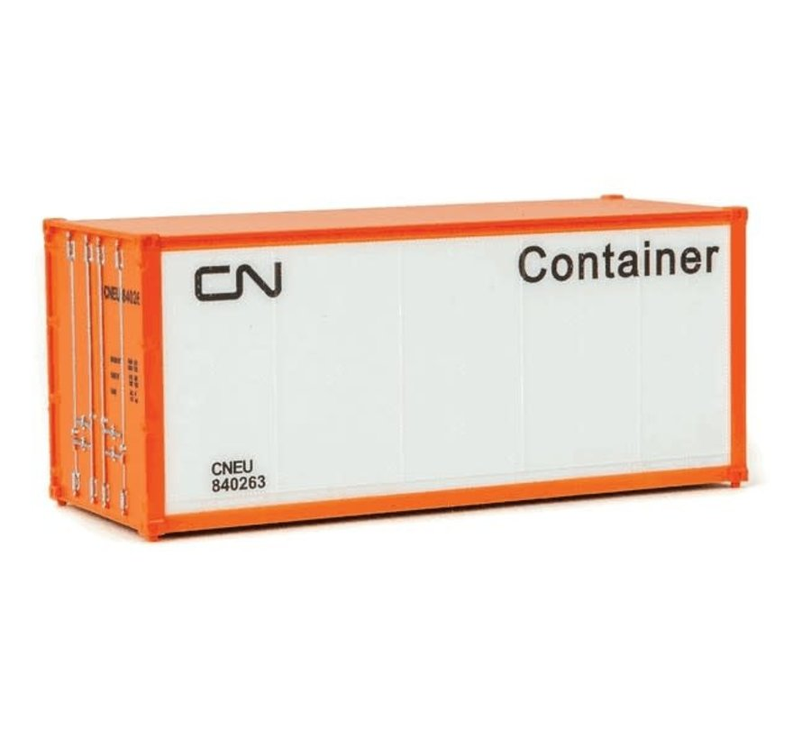 Walthers : HO 20' Container CN