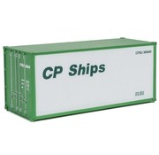 WALTHERS WALT-949-8654 - Walthers : HO 20' Smt Sid Cnt  CP Shps