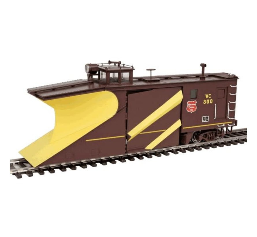 Walthers : HO WC Snow Plow