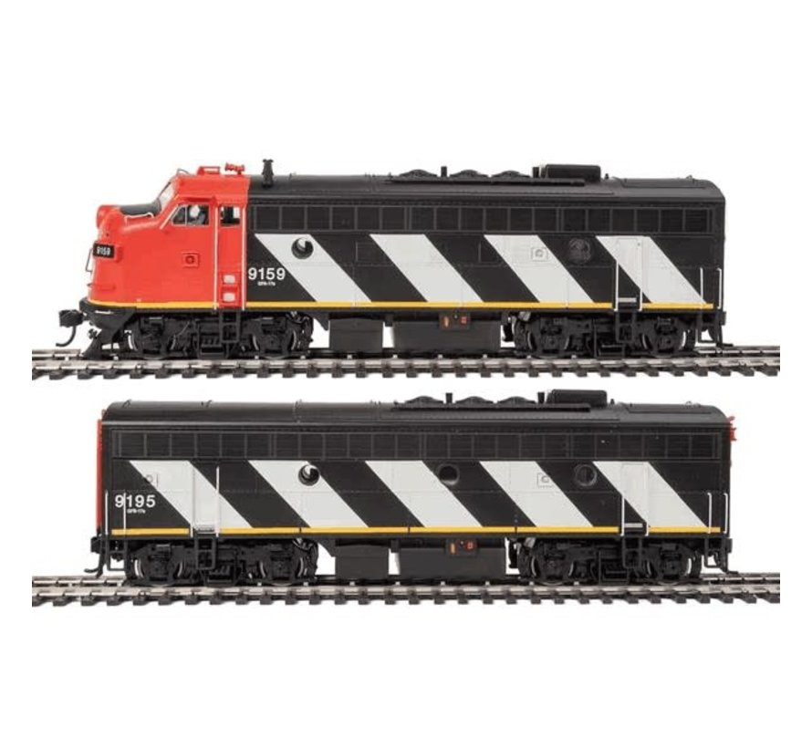 Walthers : HO F7 AB DCC CN #9159/9195