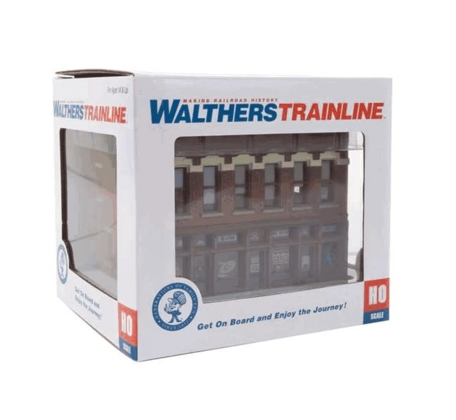 Walthers : HO Gemini Building BU