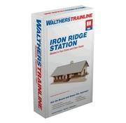 WALTHERS WALT-931-904 - Walthers : HO Iron Ridge Station KIT