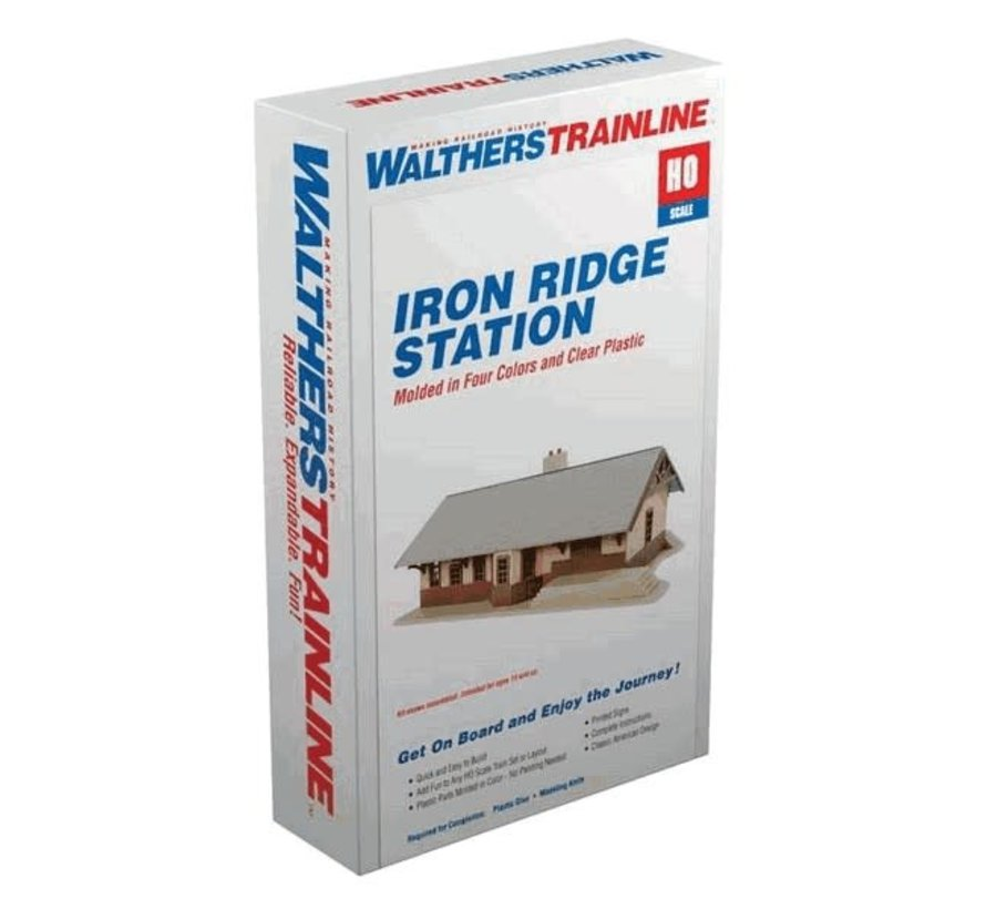 Walthers : HO Iron Ridge Station KIT