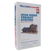 WALTHERS WALT-931-905 - Walthers : HO Iron Ridge Frght Station KIT