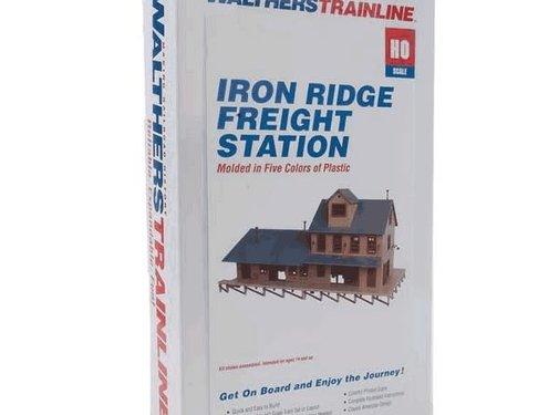 WALTHERS WALT-931-905 - Walthers : HO Iron Ridge Frght Station KIT