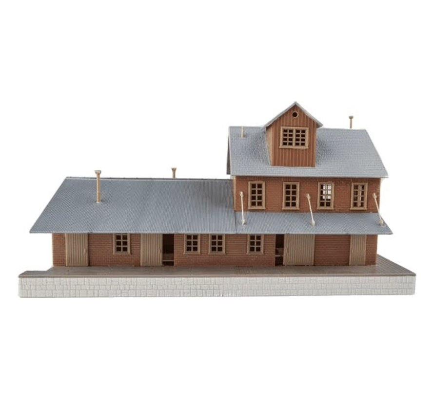 Walthers : HO Brick Freight House Kit