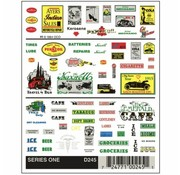 WOODLAND WDS-245 - Woodland : Series One/Dry Transfer Decals