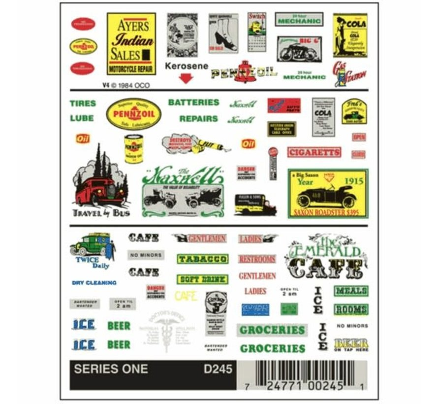 Woodland : Series One/Dry Transfer Decals