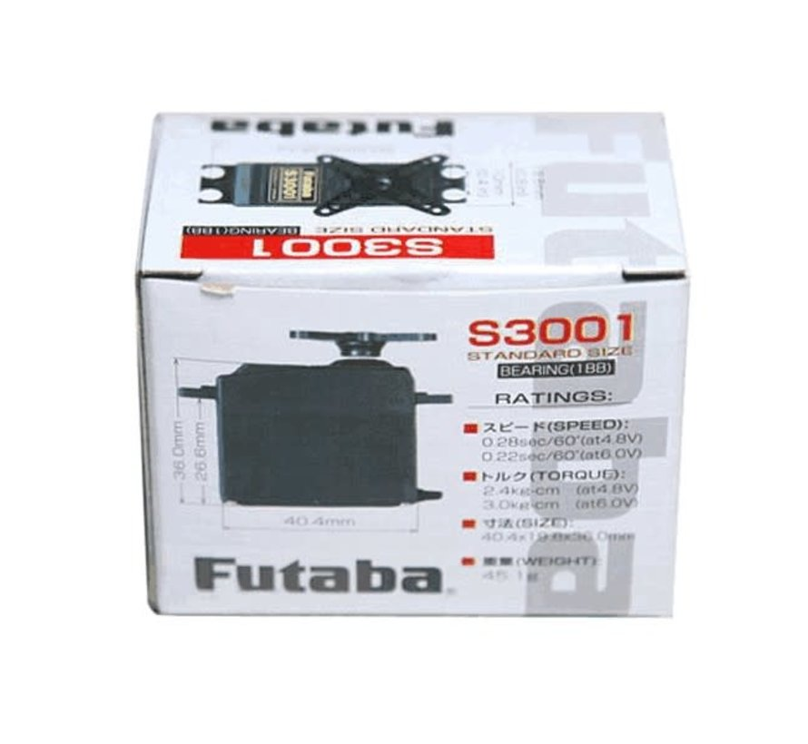 Futaba : S3001 Servo STD