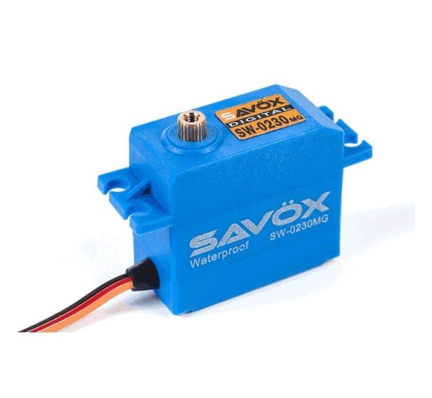Savox : RC Waterproof STD Digital Servo (0230MG)
