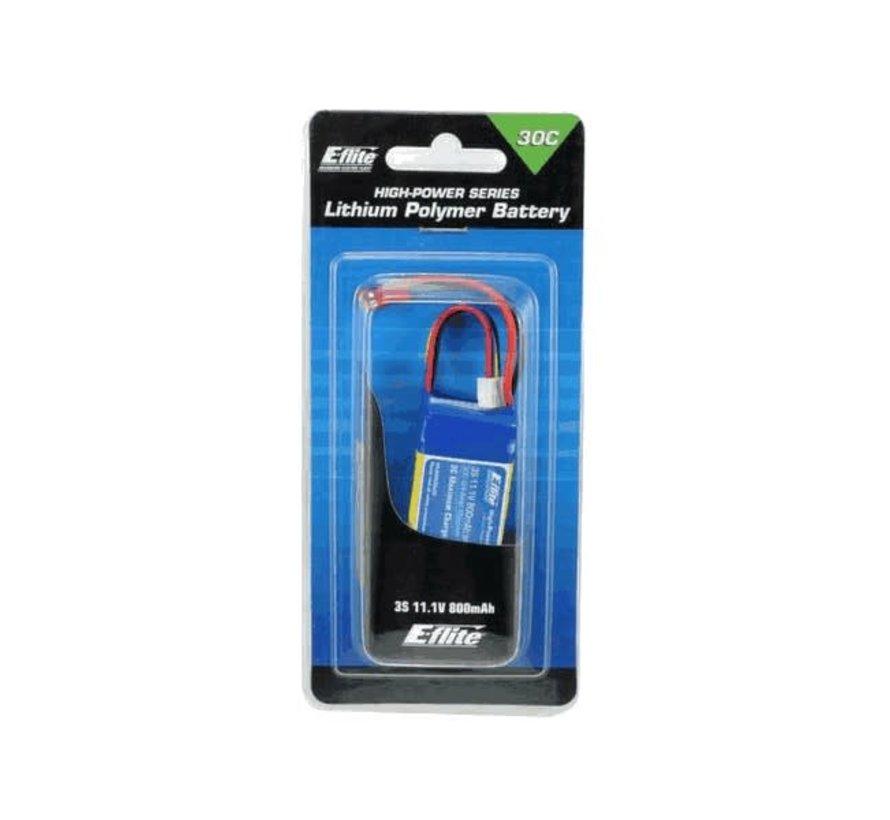 Eflite : Lipo Batterie 800 mAh 3S 11.1 v 30C (8003SJ300