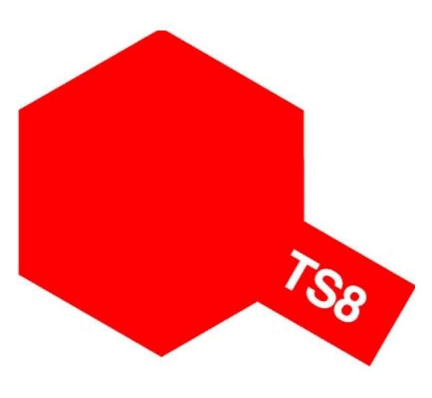 Tamiya : TS-8 ITALIAN RED