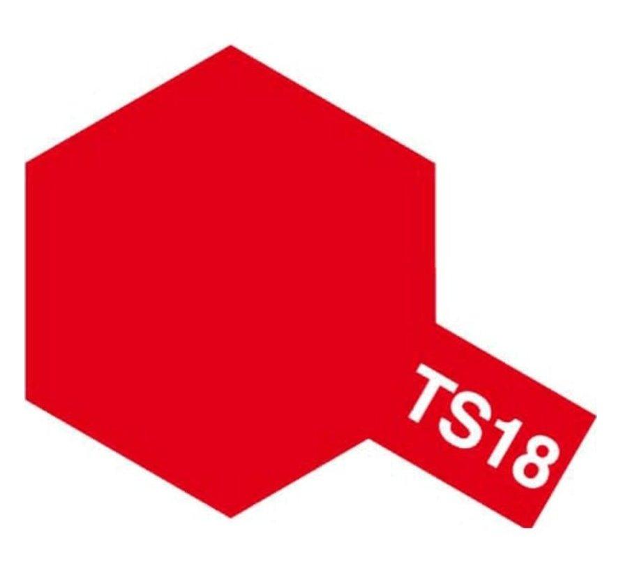 Tamiya : TS-18 METALLIC RED